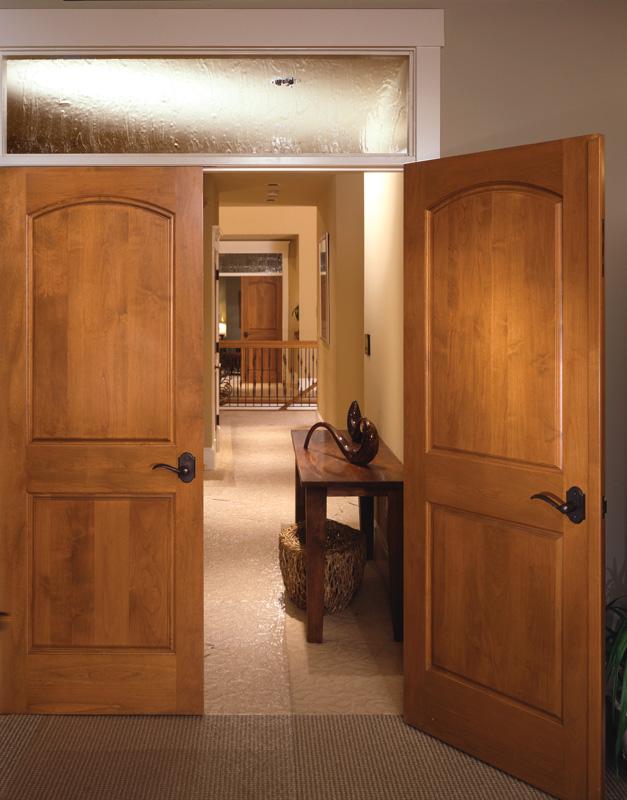 ... Interior Double Door Shown In Fir ...