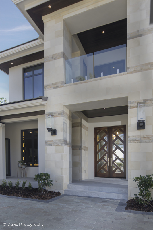 Oversized Contemporary Front Double Door