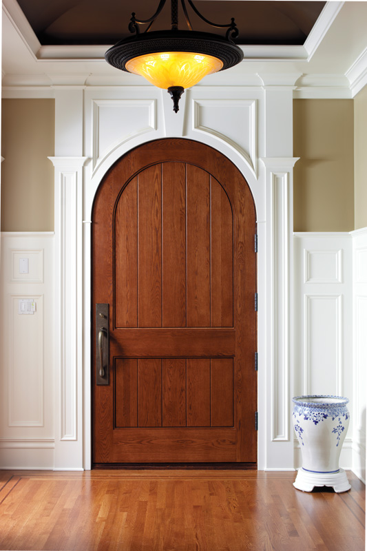 Oak Custom Wood Door