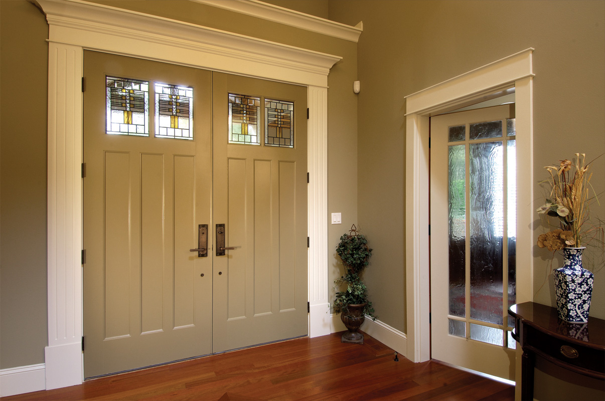 ... Entryway With Double Front Doors ...