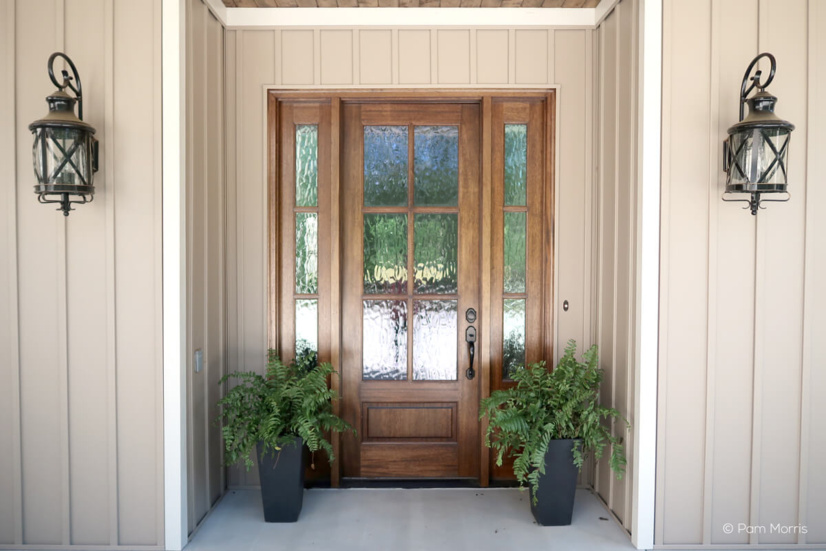Perfect ... Front Door And Sidelights Entryway With Exterior French Door ...
