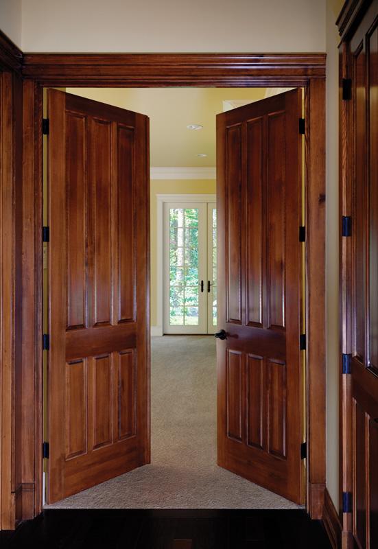 interior double doors shown in fir - Interior Double Doors