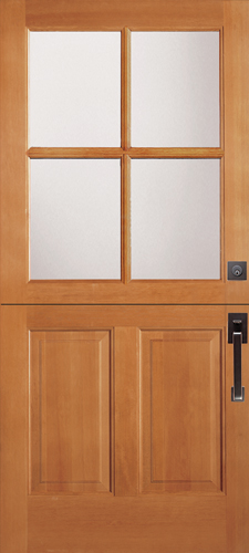 Dutch Doors Half Split From