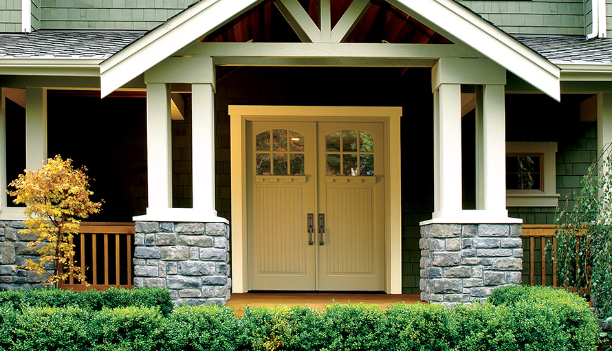 bungalow series wood doors simpson door company