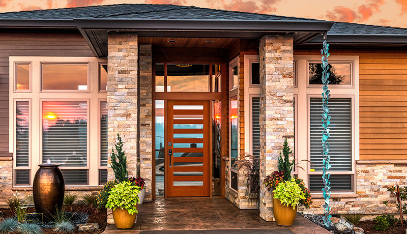 Genial Contemporary Exterior Doors