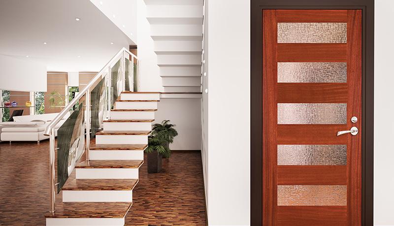 Delightful Contemporary Exterior Doors