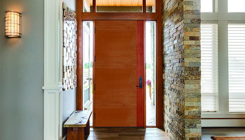 Elegant Contemporary Exterior Doors