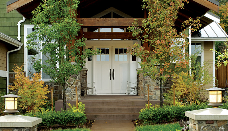 Exterior french doors french patio doors simpson doors for Front door patio
