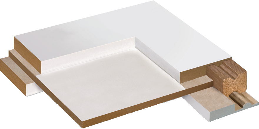Our Revolutionary Ovation Layered Panel Doors Are Precision Crafted From  Components Made Of Medium Density Fiberboard (MDF). This Stable Material Is  An ...