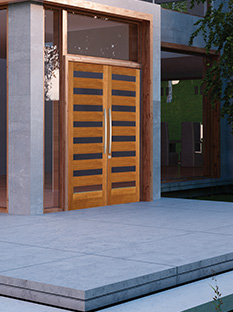 search for your door - Modern Glass Exterior Doors