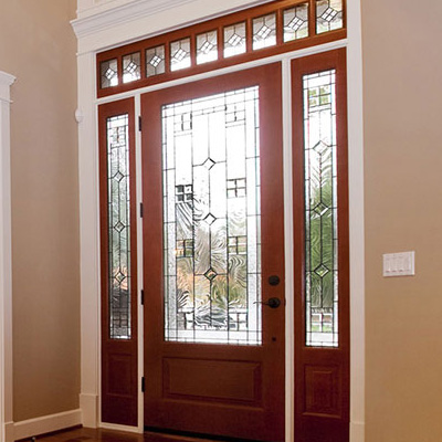 doors door of exterior glass types front your for stained that different can feature