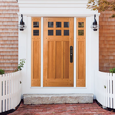 Exterior doors front doors simpson door company for Exterior door companies
