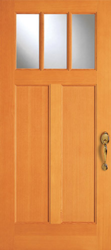 View the Craftsman Collection | Wood Doors from Simpson