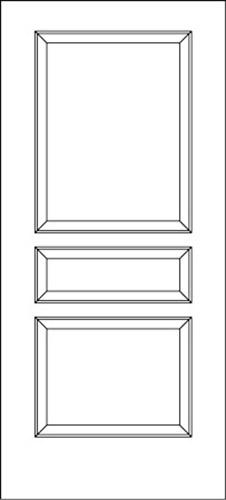 New doors from simpson browse door types and styles 87103 ovation 3 panel series ovation doors planetlyrics Gallery