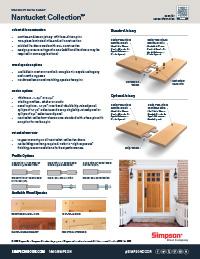 1651 #AE1D21 Simpson Door Literature Catalogs Information image Simpson Doors Catalog 40431275
