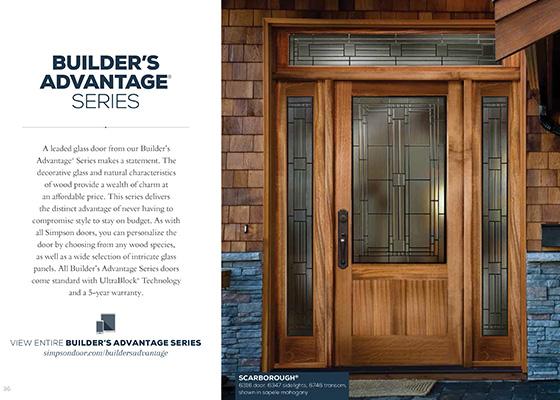 Bungalow Series Builders Advantage Series  sc 1 st  Simpson Door & Simpson Door Literature u0026 Catalogs