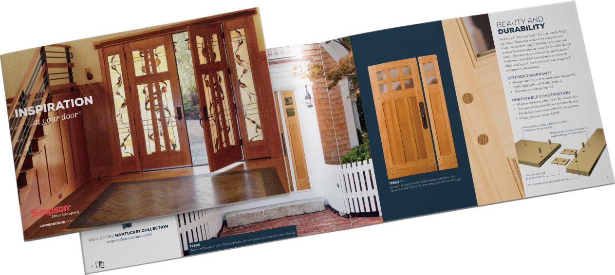 Door brochure centurion door brochure 1 4 pages for Marvin scenic doors cost
