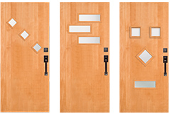 Ex&les  sc 1 st  Simpson Doors & Personalize Your Contemporary Flush Door | Simpson Door Co. pezcame.com