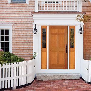 Award winning simpson nantucket collection wood doors for Stile architettonico nantucket