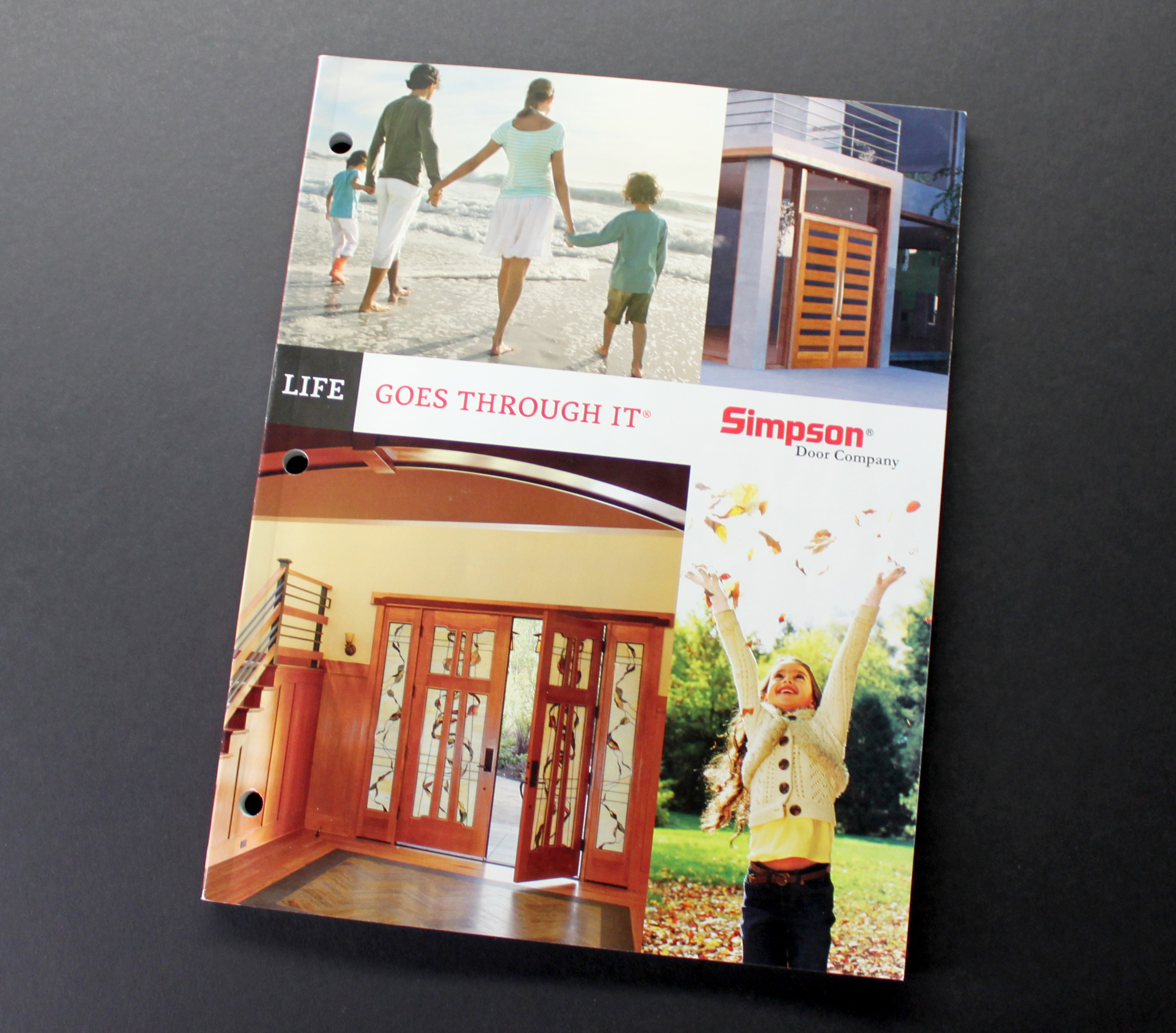 New simpson catalog showcases vast design options for for Wood door design catalogue