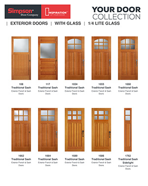 Create your own custom simpson brochure simpson doors for Design your own front door